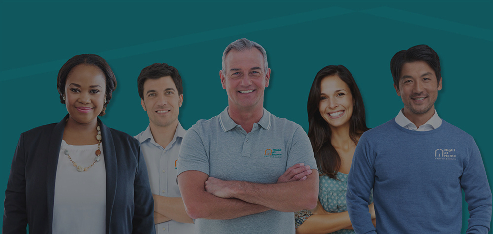 Background Image of Five Right at Home Franchisees