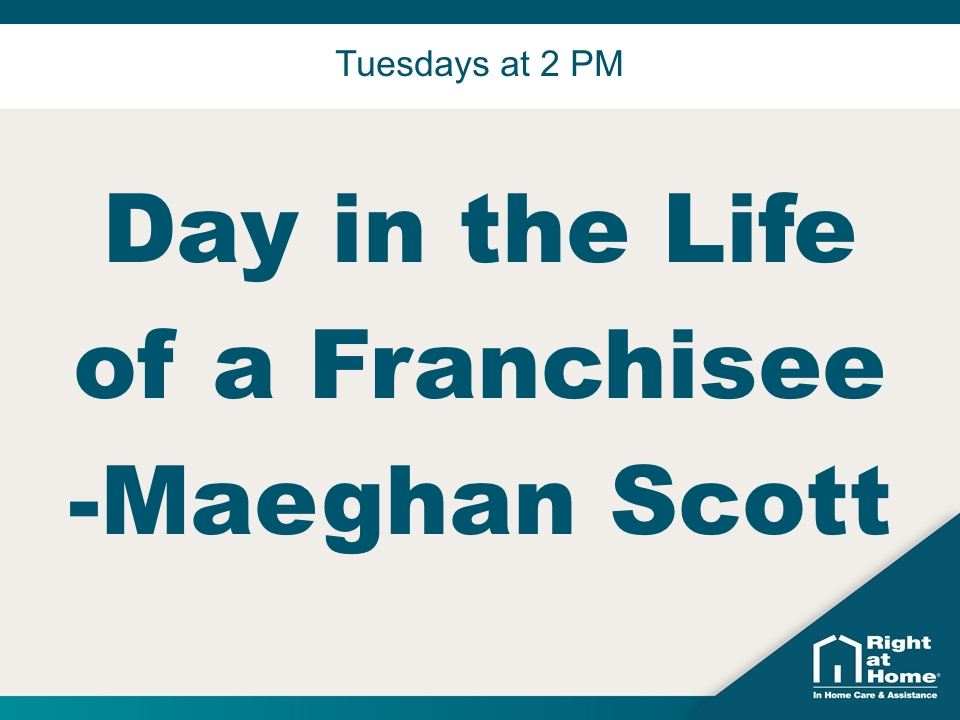 Day in the Life of a Franchisee – Maeghan Scott