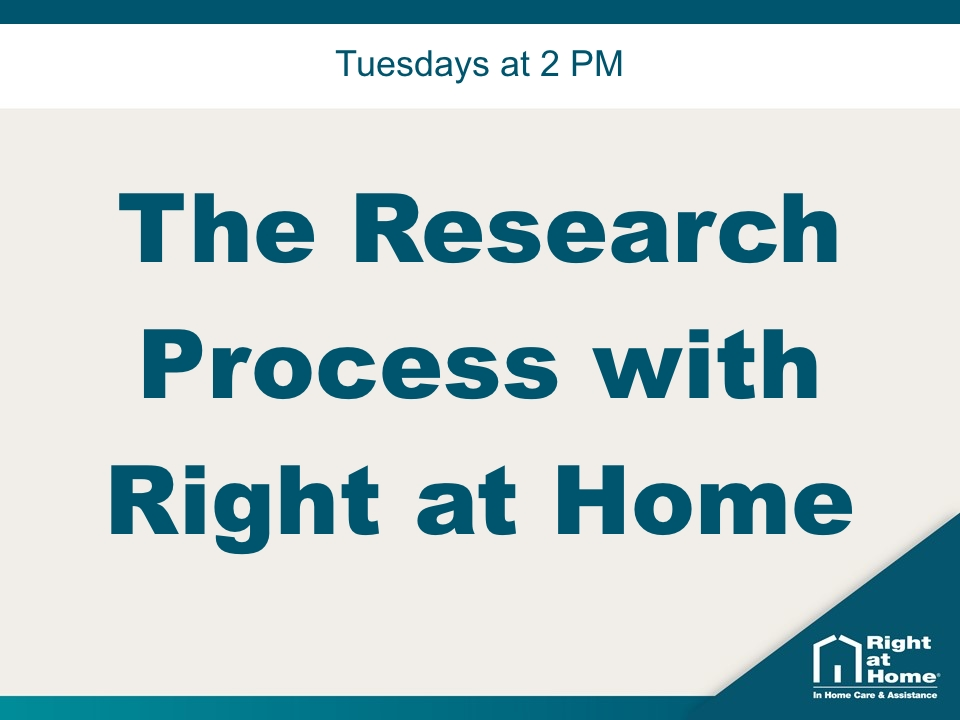 The Research Process with Right at Home